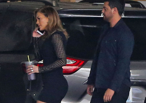 Jennifer Lopez Has Legs for Days in This Sexy LBD
