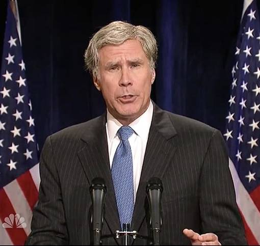'SNL': Will Ferrell's George W. Bush Takes on Trump, Chris Hemsworth Dons Drag