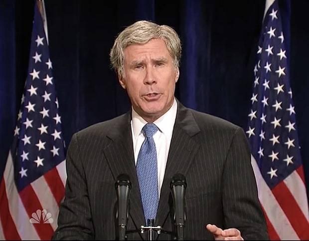 'SNL': Will Ferrell's George W. Bush Takes on Trump, Chris Hemsworth Dons Drag