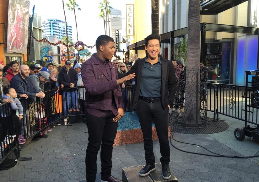 'Star Wars' Actor John Boyega Reveals Celebrity Crush, Talks Working with Harrison Ford