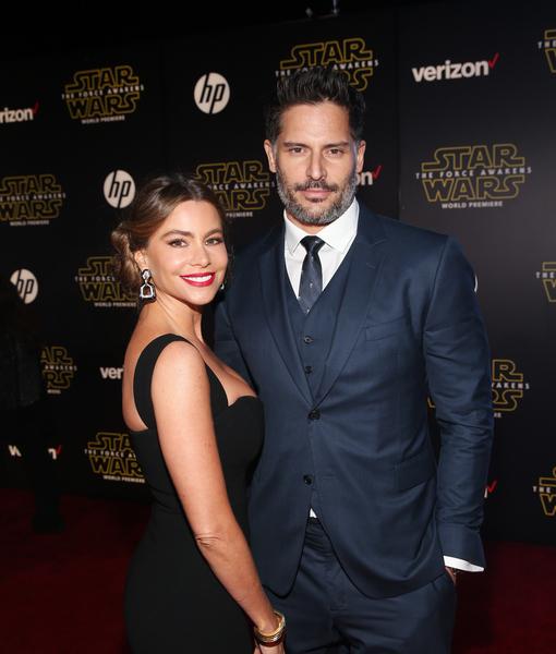 Sofia Vergara & Joe Manganiello Enjoy First Post-Wedding Date at 'Star Wars: The Force Awakens' Premiere