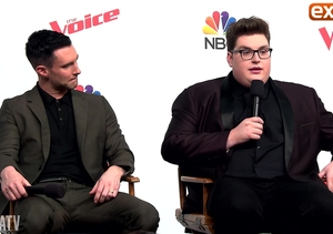 'The Voice' Finale! Backstage with Adam Levine & Winner Jordan Smith