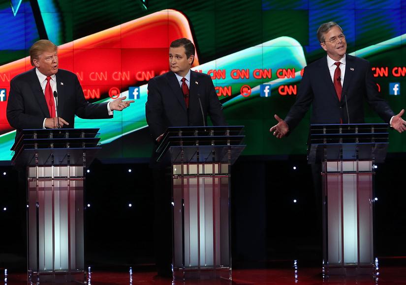 Donald Trump on the GOP Debate, Jeb Bush, and More