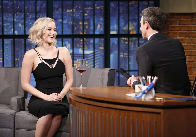 Jennifer Lawrence Wanted to Date Seth Meyers — Watch Her Funny Confession!