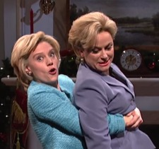 Palin & Clinton & Clinton on 'SNL'