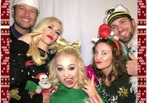 Celebrities Love Ugly Christmas Sweaters — See the Pics!