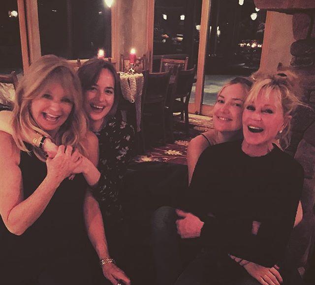 Kate Hudson & Dakota Johnson Do a Cute Mom Swap!