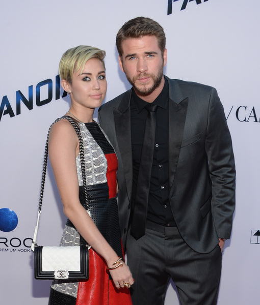 Miley Cyrus Reflects on 2012 Split with Liam Hemsworth, Plus: Her Blingin'…