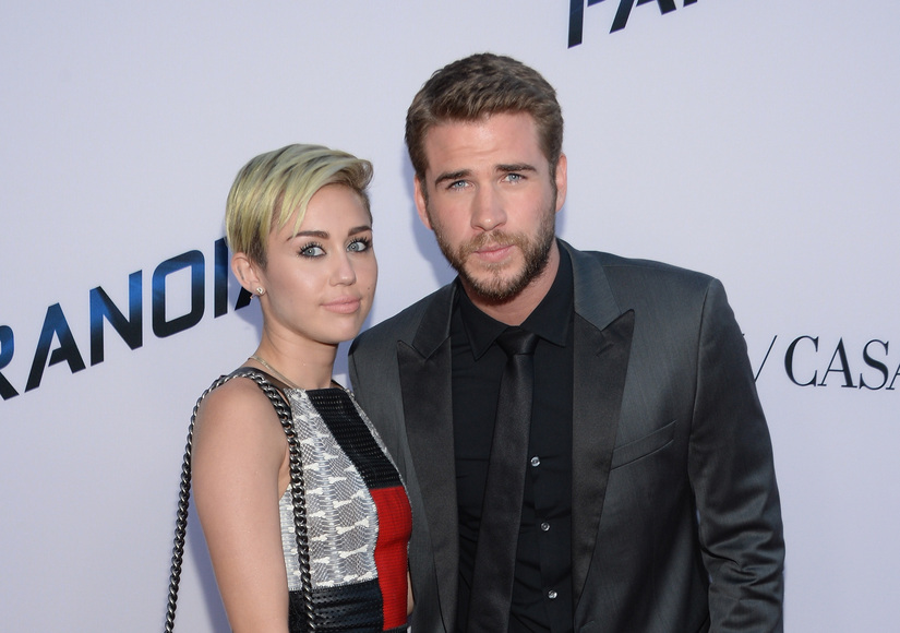 Miley Cyrus Reflects on 2012 Split with Liam Hemsworth, Plus: Her Blingin' Tribute to Their Relationship