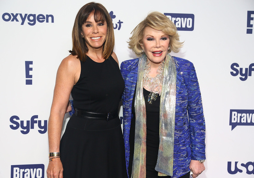Melissa Rivers Opens Up on Playing Mom Joan in 'Joy'