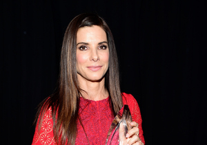 How Sandra Bullock's Kids Got Her Red-Carpet Ready for the People's Choice…