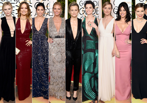 Golden Globes: The Stars Who Risked Wardrobe Malfunctions for Seriously Sexy…