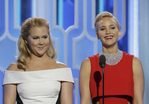 Jennifer Lawrence Dishes on Amy Schumer's BF, and Their Upcoming Movie