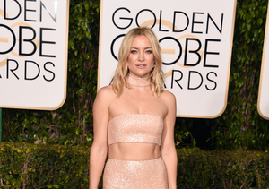 Hot! Kate Hudson Was Seriously Flaunting It at the Golden Globes