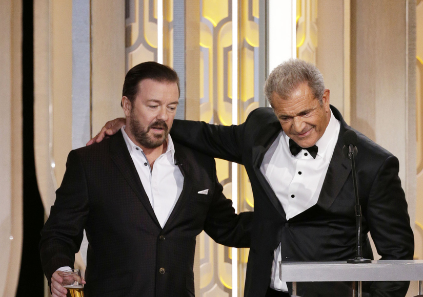 Ricky Gervais vs. Mel Gibson: Watch the Most Awkward Moment at the Golden Globes