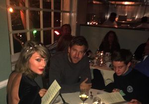 Fan Crashes Taylor Swift's Dinner with Calvin Harris!