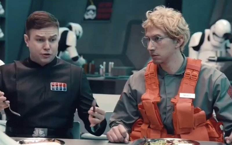 Watch the Hysterical 'Star Wars'-Themed 'Undercover Boss' Skit on 'SNL'