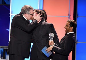 Video! Christian Bale Enjoys 'Lovely Makeout Session' with Adam McKay at…