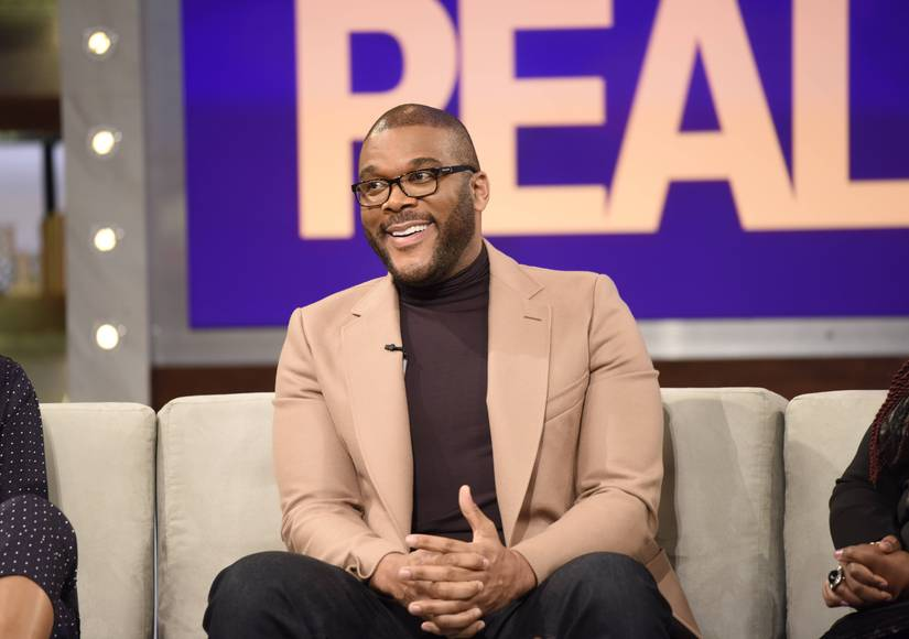 Tyler Perry Opens Up About Fatherhood and His Son's Famous Godmothers on 'The Real'