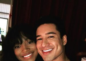 Keke Palmer on Her Flirty 'Grease: Live' Scenes with Mario Lopez