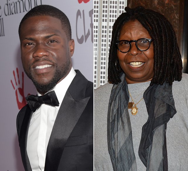 Kevin Hart & Whoopi Goldberg Announced as Academy Award Presenters Amid #OscarSoWhite Controversy