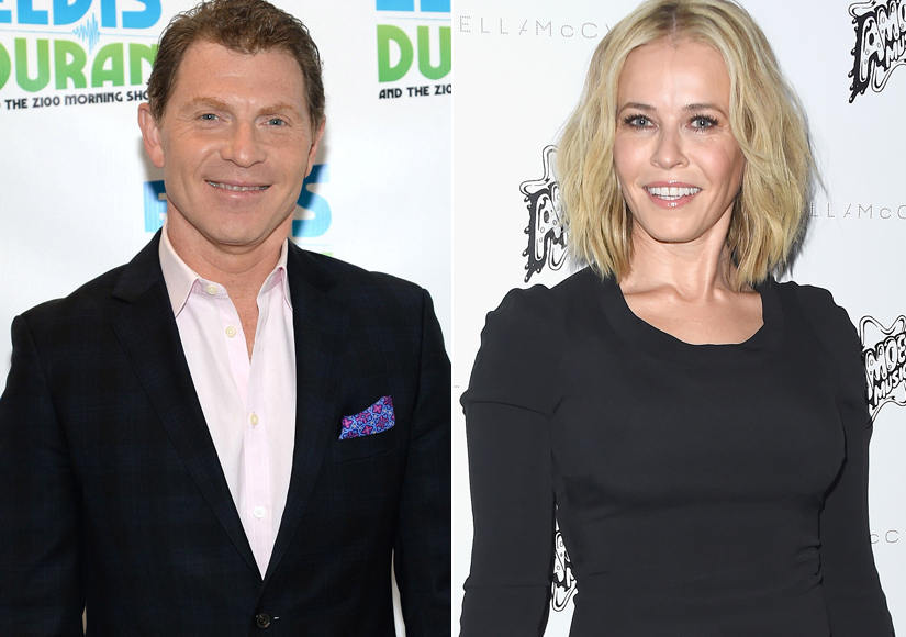 Extra Scoop: Is Bobby Flay Dating Chelsea Handler?