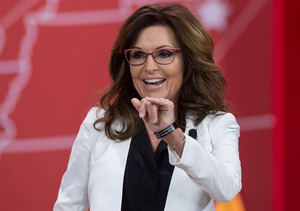 Sarah Palin Jokes That Polls Aren't Just Good for Strippers and Skiers Anymore