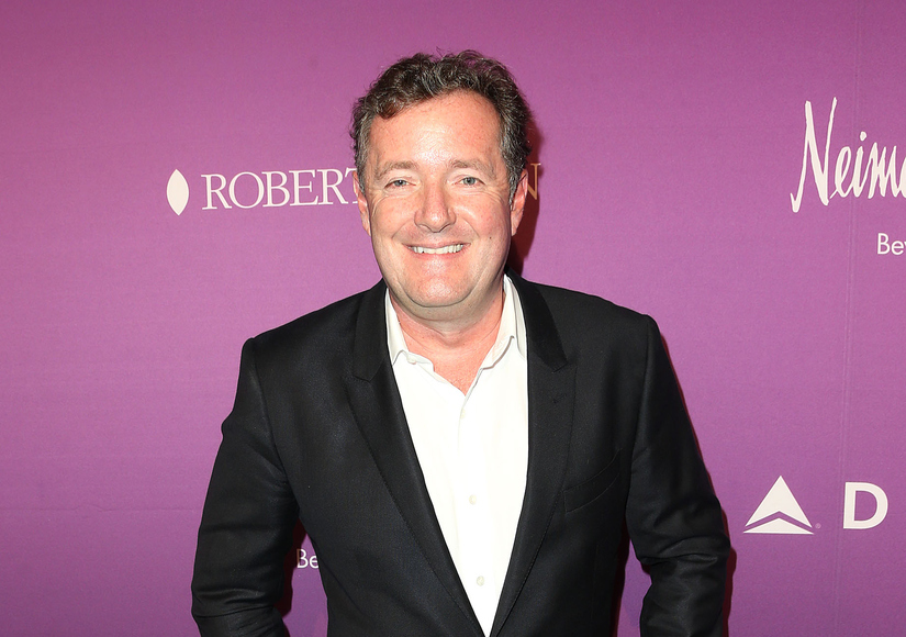 Piers Morgan on Kim Cattrall's Feud with Sarah Jessica Parker, Plus: Those Omarosa Showmance Claims