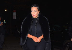 How to Sport Braids Like Kim Kardashian — Watch!