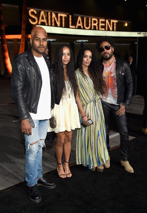 Twin Shadow Zoe Kravitz Lisa Bonet Lenny Kravitz