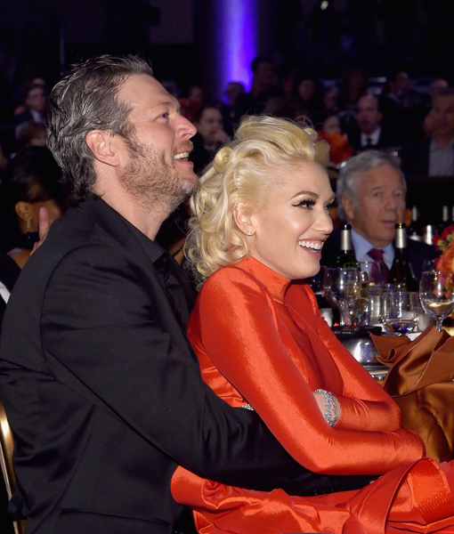 PDA Alert! Details on Gwen Stefani & Blake Shelton's First Valentine's Day Date