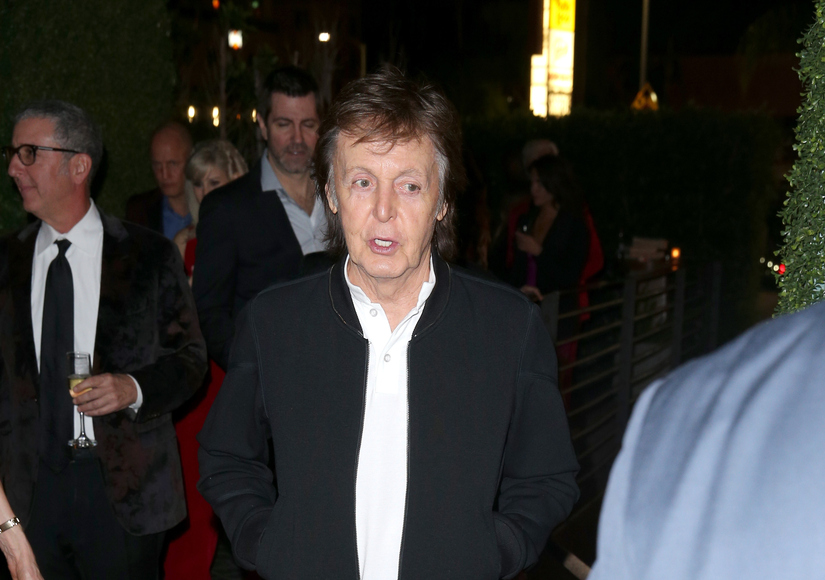Sir Paul McCartney Denied Access to Tyga's Grammy Party — Watch His Response!