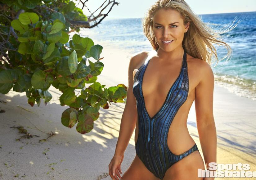 Lindsey Vonn Covers Naked Body with Body Paint in Sports Illustrated Swimsuit Issue