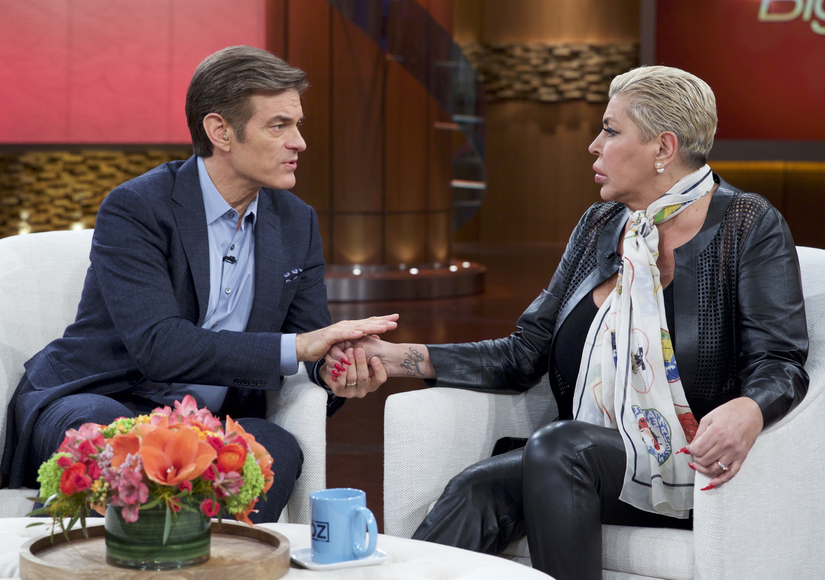 Dr. Oz Reflects on Death of 'Mob Wives' Star Big Ang