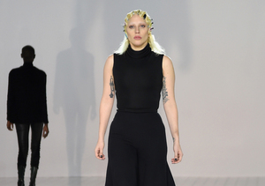 Lady Gaga Strips Down to Her Bra and Thong to Prep for Marc Jacobs Fashion Show