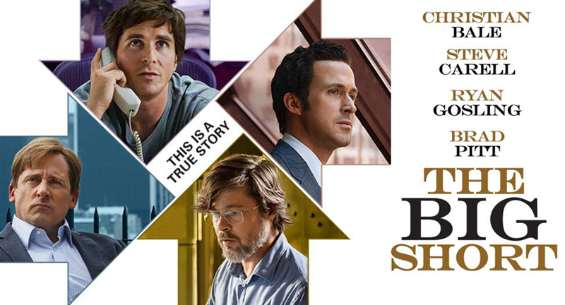 """Enter for a chance to win a digital copy of """"The Big Short"""" in the ExtraTV Twitter Giveaway!"""
