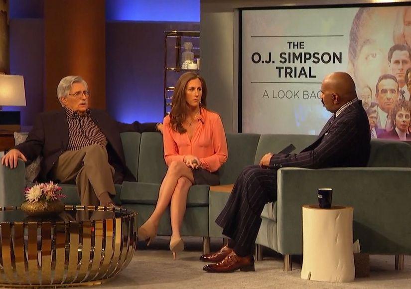 Behind the Scenes of 'Steve Harvey': Goldman Family & Kato Kaelin Get Candid on 'The People v. O.J.'