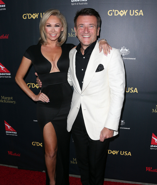 Story Dancing With The Stars Kym Johnson And Robert Herjavec Welcome Twins: ExtraTV.com