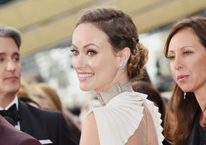 Oscars! Olivia Wilde Takes the Plunge in Valentino