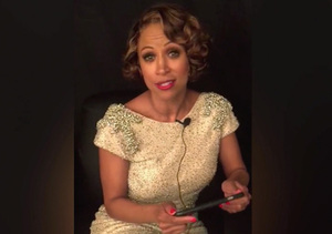 Ouch! Stacey Dash Reads Her Mean Tweets After Awkward Oscars Appearance