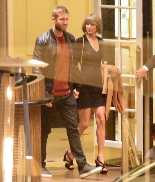 Taylor Swift & Calvin Harris Enjoy Date Night After One-Year Anniversary
