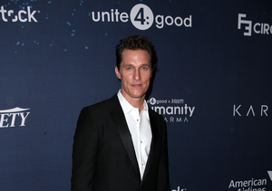 Unite 4 Humanity! Matthew McConaughey Is Teaching His Kids About Giving Back