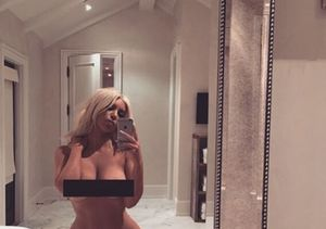 Kim Kardashian Goes Nude Since She Has 'Nothing to Wear'