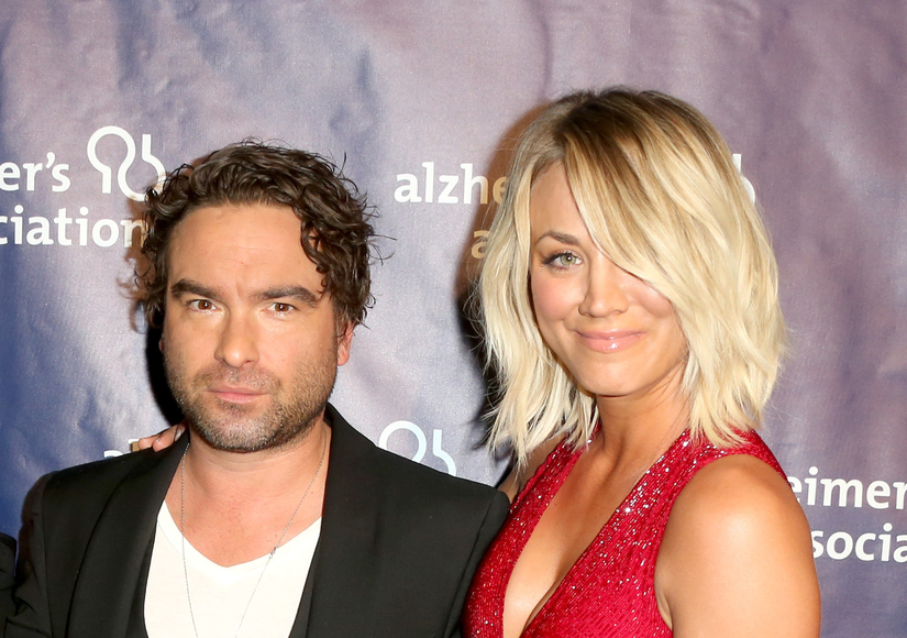 Kaley Cuoco's Message to Ex Johnny Galecki After He Cuddles Up to Her BF