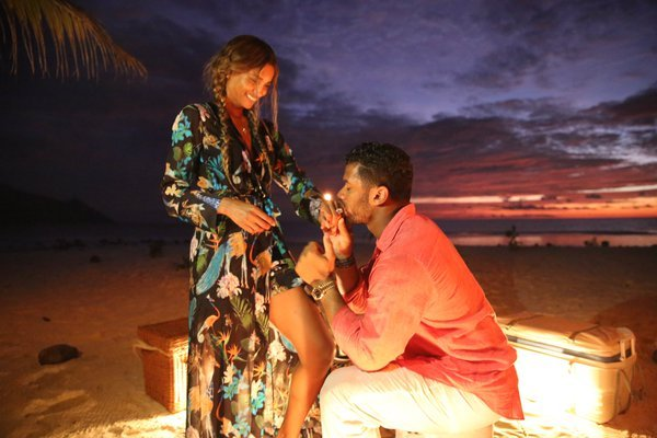 Watch Russell Wilson and Ciara's Engagement Video, and See Her Giant Ring