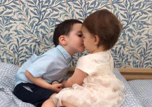 Terri Seymour's Daughter & Simon Cowell's Son Shared an Adorable Kiss