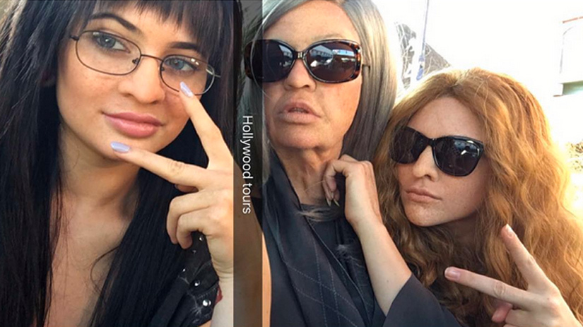 The Kardashians Go Undercover! See Their Wild Disguises