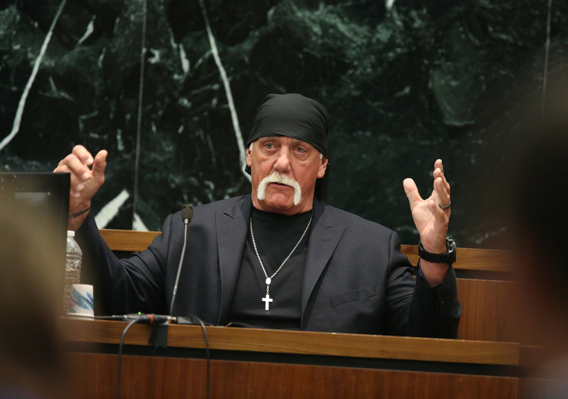 Jury Awards Hulk Hogan $115M in Sex Tape Lawsuit Against Gawker
