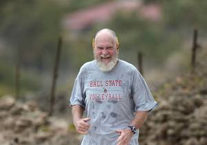 David Letterman Is Completely Unrecognizable with Beard and Bald Head