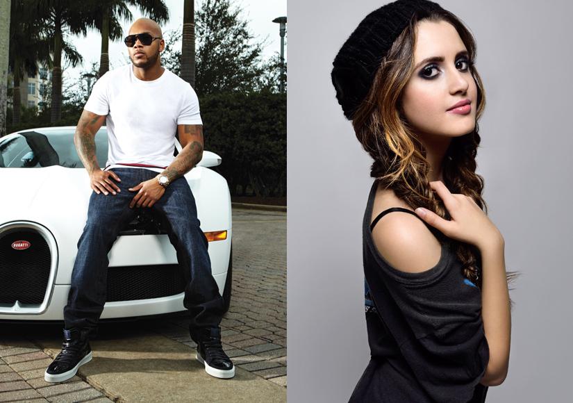 Exclusive! Flo Rida and Laura Marano to Perform at Radio Disney Music Awards
